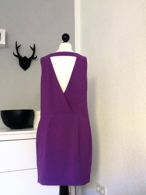 Zara Robe violet foncé