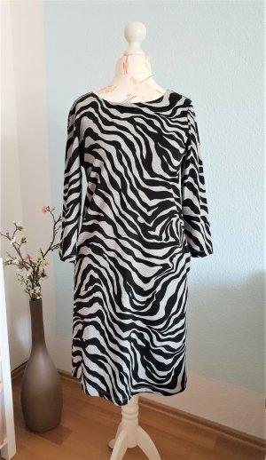 Aniston Vestido ceñido de tubo negro-gris