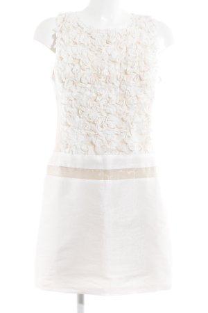 Etuikleid nude-weiß Elegant
