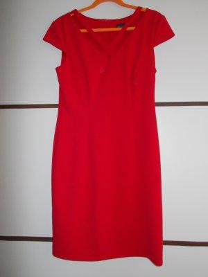 Connected Apparel Sheath Dress red mixture fibre