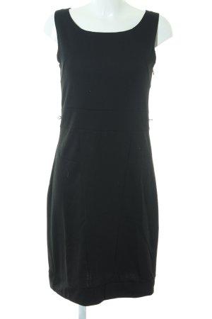 Robe fourreau noir style festif