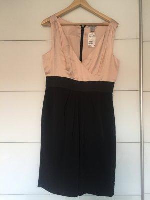 Etuikleid schwarz/rosé NEU