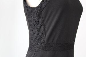 Etuikleid schwarz Spitze Vero Moda Gr. 38 S M gothic Kleid Minikleid kurz festlich