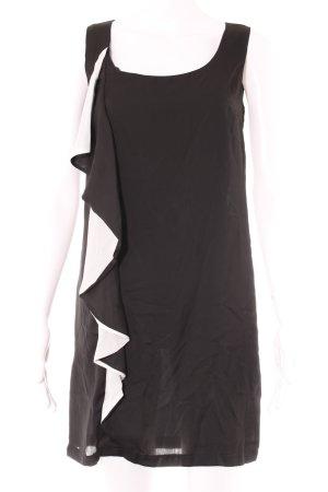 Etuikleid schwarz-weiß Elegant