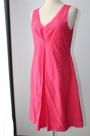 Etuikleid Sommer bussines pinkrot Vogue 65%Baumwolle 35% Seide Gr. 38 business Büro