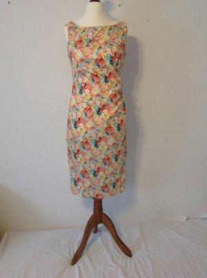 Robe fourreau multicolore coton