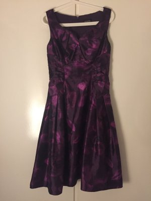 Adrianna Papell A Line Dress multicolored
