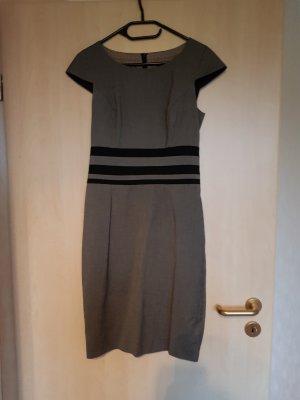 s.Oliver Vestido ceñido de tubo negro-gris