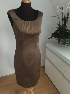 Ambiance Vestido ceñido de tubo marrón