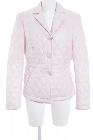 Eugen Klein Quilted Jacket pink quilting pattern casual look