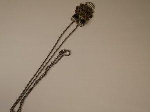 Collier gris brun