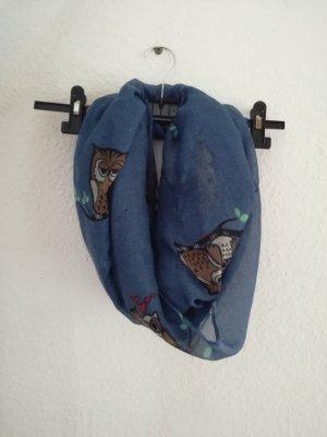 Sciarpa blu scuro