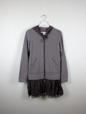 european culture jacke kleid M L 40 42 -NEU- braun khaki designer hippie indie boho goa style