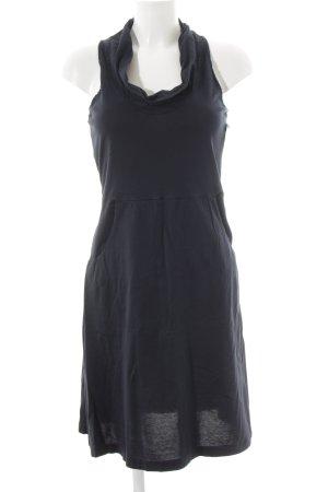 European Culture Shirtkleid dunkelblau sportlicher Stil