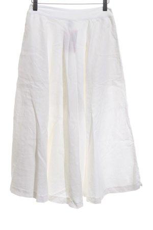 European Culture Circle Skirt white casual look
