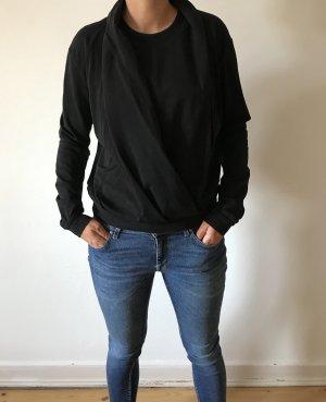 EuropeanCulture Baumwolle Sweater verspielter Kragen