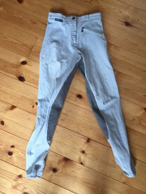 euro- star Riding Trousers light grey-baby blue