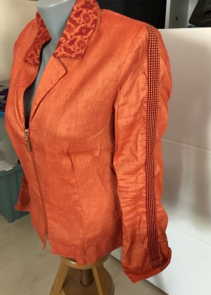 Eva & Claudi Short Blazer orange-brick red