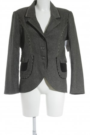 Eva Kayan Wool Blazer black-white flecked elegant