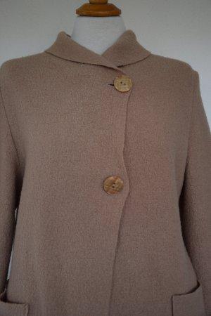 Giacca di lana color cammello Lana