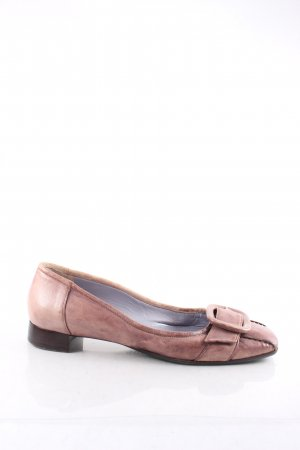 Eva turner Ballerinas altrosa-graulila Used-Optik