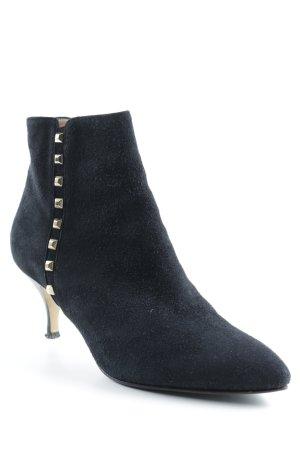 Eva Turner Reißverschluss-Stiefeletten schwarz Elegant
