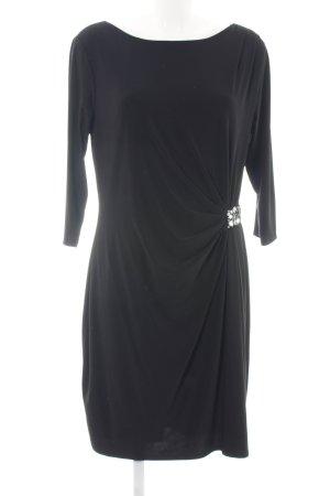 Evan-Picone Stretch jurk zwart elegant