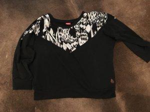 Evav weave schwarzer Pullover tolle Qualität 42