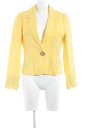 Evaw Wave Blazer corto giallo stile casual
