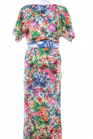 Evaw Wave Maxikleid florales Muster Casual-Look