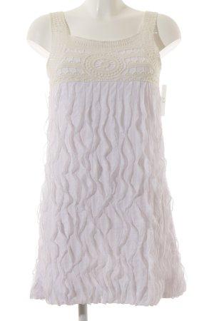 Eve Trägerkleid weiß-creme Beach-Look