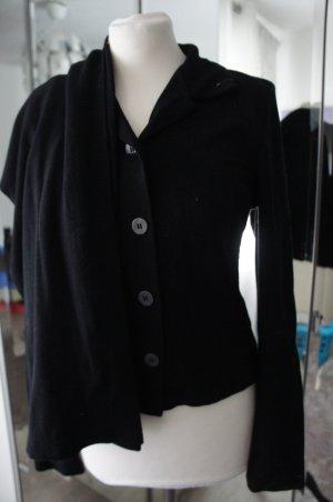 EVELIN BRANDT Anzug 36 Blazer Hose Kostüm schwarz