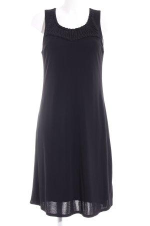 Evelin Brandt Berlin A-Linien Kleid schwarz schlichter Stil