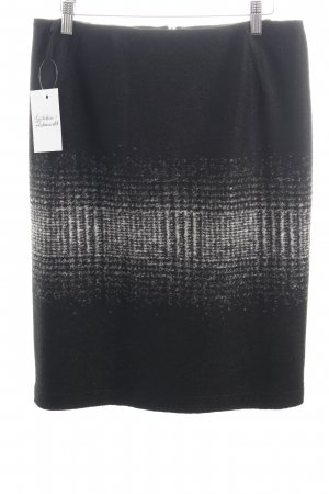 Evelin Brandt Berlin Pencil Skirt black-grey color gradient casual look