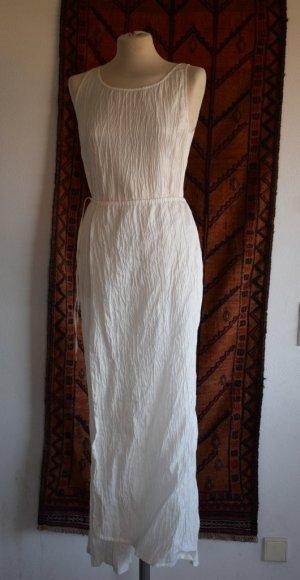 Evelin Brandt Berlin - Crash Crinkle Kleid mit raffiniertem Schnitt 38
