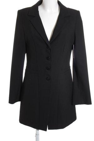 Evelin Brandt Berlin Long-Blazer schwarz klassischer Stil