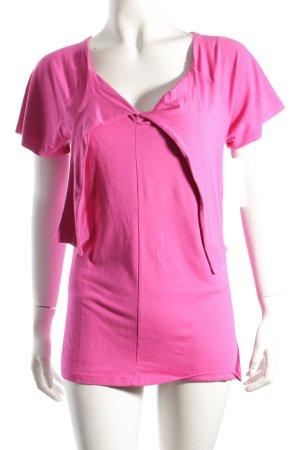 Evelin Brandt Berlin T-Shirt pink sportlicher Stil