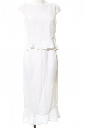 Evelin Brandt Berlin Woven Twin Set white business style