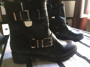 Even & Odd Biker Boots black