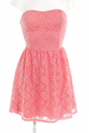 Even & Odd Bandeaukleid pink Beach-Look