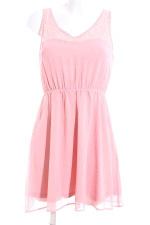 Even & Odd Chiffonkleid pink Elegant