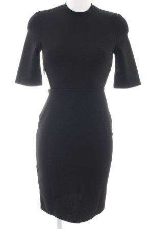 Even & Odd Cut out jurk zwart zakelijke stijl