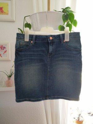 Even & Odd Denim Skirt blue