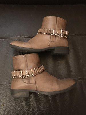 Even & Odd Botines marrón grisáceo