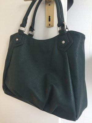 Even & Odd, dunkelgrüne Handtasche