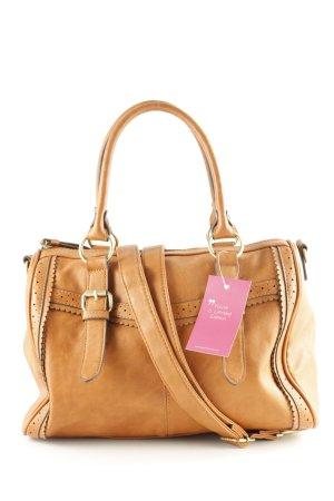 Even & Odd Handtasche braun Casual-Look