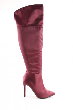 Even & Odd High Heel Boots red extravagant style