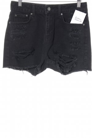 Even & Odd Jeansshorts schwarz Casual-Look
