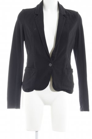Even & Odd Jerseyblazer schwarz Business-Look