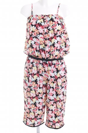 Even & Odd Jumpsuit Blumenmuster Casual-Look